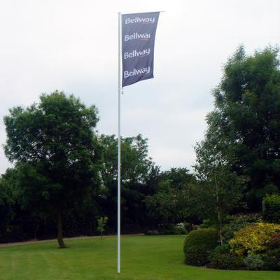 6 metre 2 section flagpole