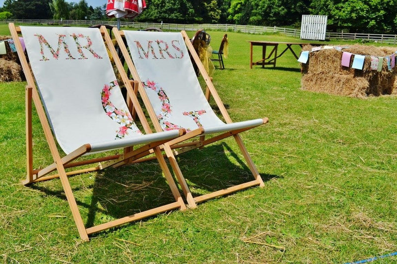 Custom Printed/Personalised Deckchair
