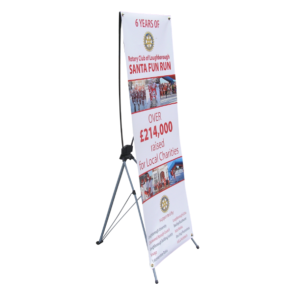 X Frame tension banner