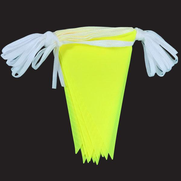 Yellow hi-vis bunting