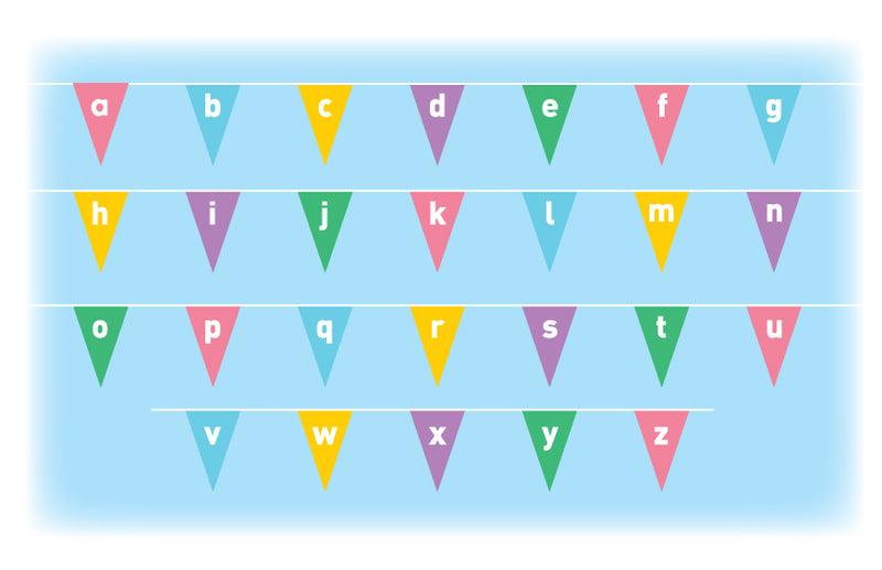 Learn the Alphabet bunting