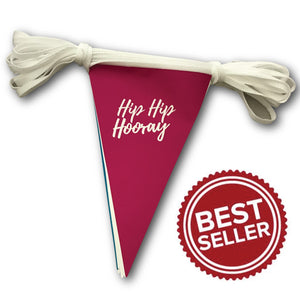 Triangular Paper Bunting - Printed with your design