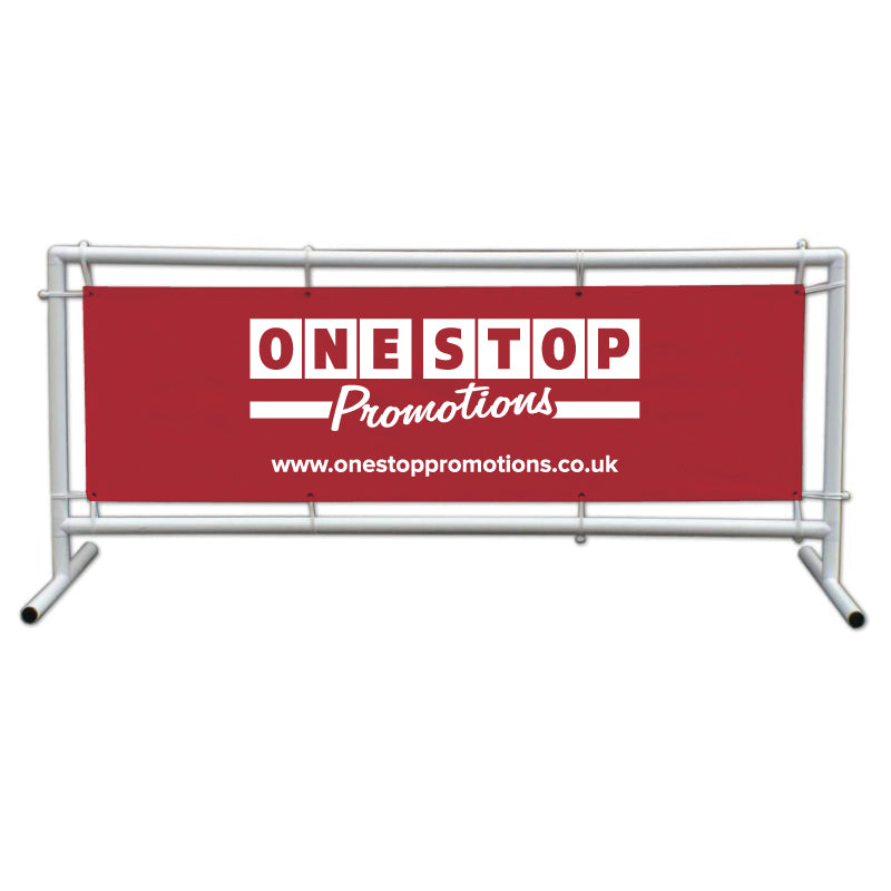 Supertube banner frame 2m x 0.6m with banner