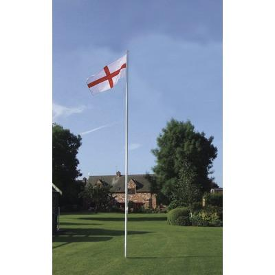flagpole, 6 meres high