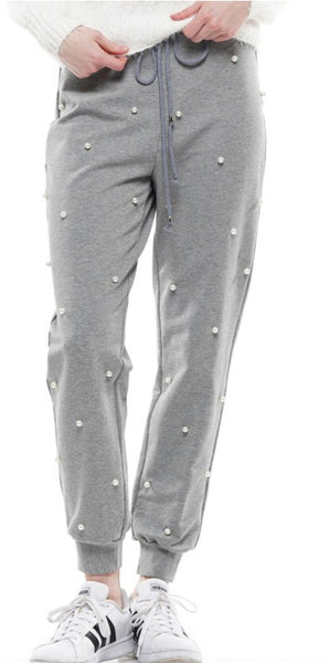 Gray Pearl Joggers