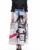 GRAFFITI Maxi Skirt