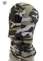 Camouflage Fabric Face & Neck Mask