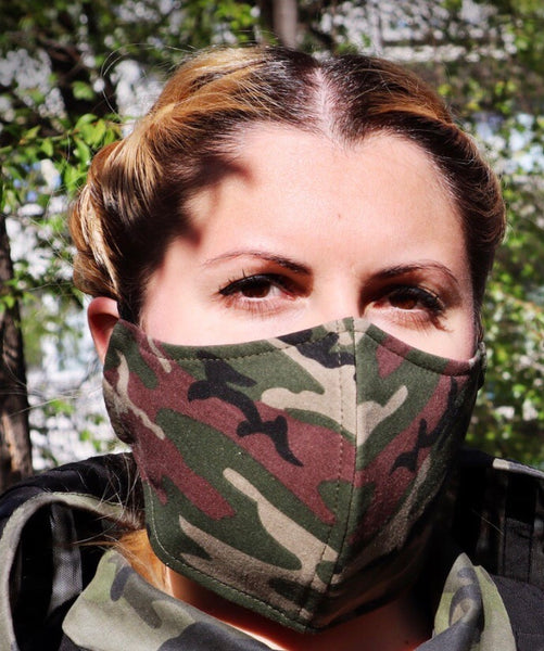 Camouflage Face Coverings