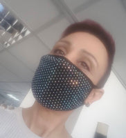 RHINESTONE Face Coverings