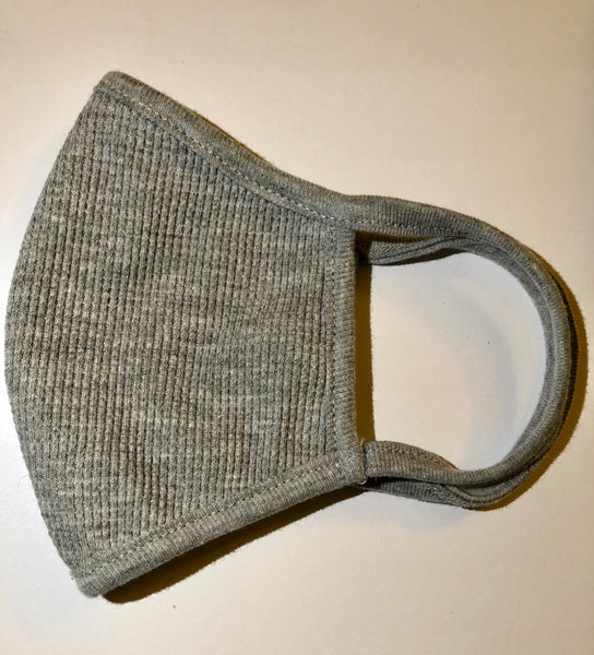 Grey Thermal Cotton Face Mask