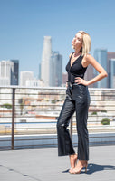 Vegan Leather Trousers