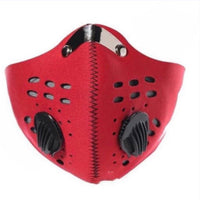Red Sports Mask