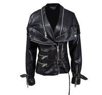 Faux Leather MOTO/Biker Jacket