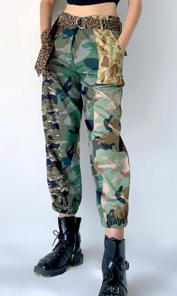 Camouflage & Animal Print Joggers