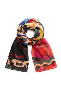 DESIGUAL DAY & NIGHT SCARF