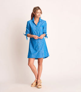 HATLEY S20CHL1357 CAROLINE DRESS-CHAMBRAY