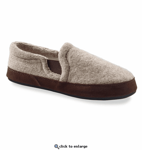 ACORN FAVE GORE 11172 MEN'S GORED SLIPPER