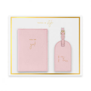 KATIE LOXTON BOXED PASSPORT AND LUGGAGE BOX SET