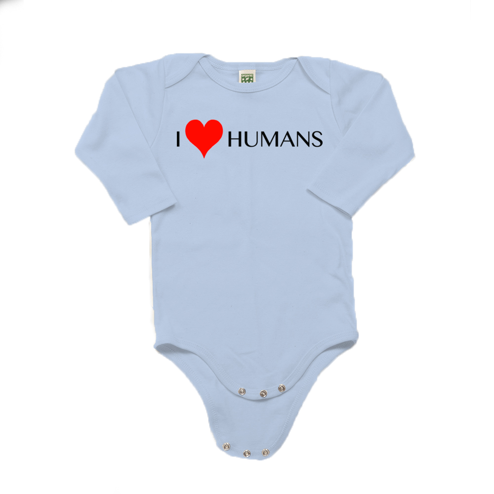 Dharma Baby Collection, Onesie, I love Humans