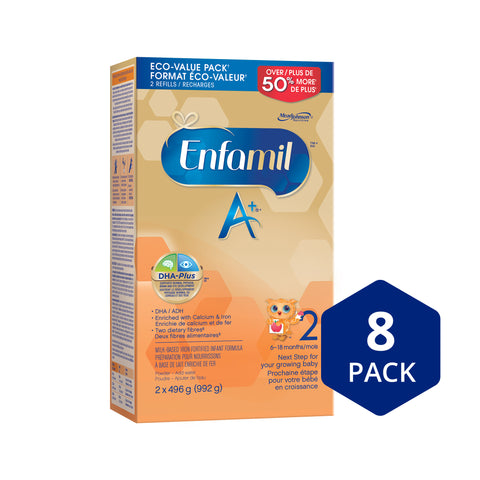 Enfamil A+ 2 Infant, Powder Pack