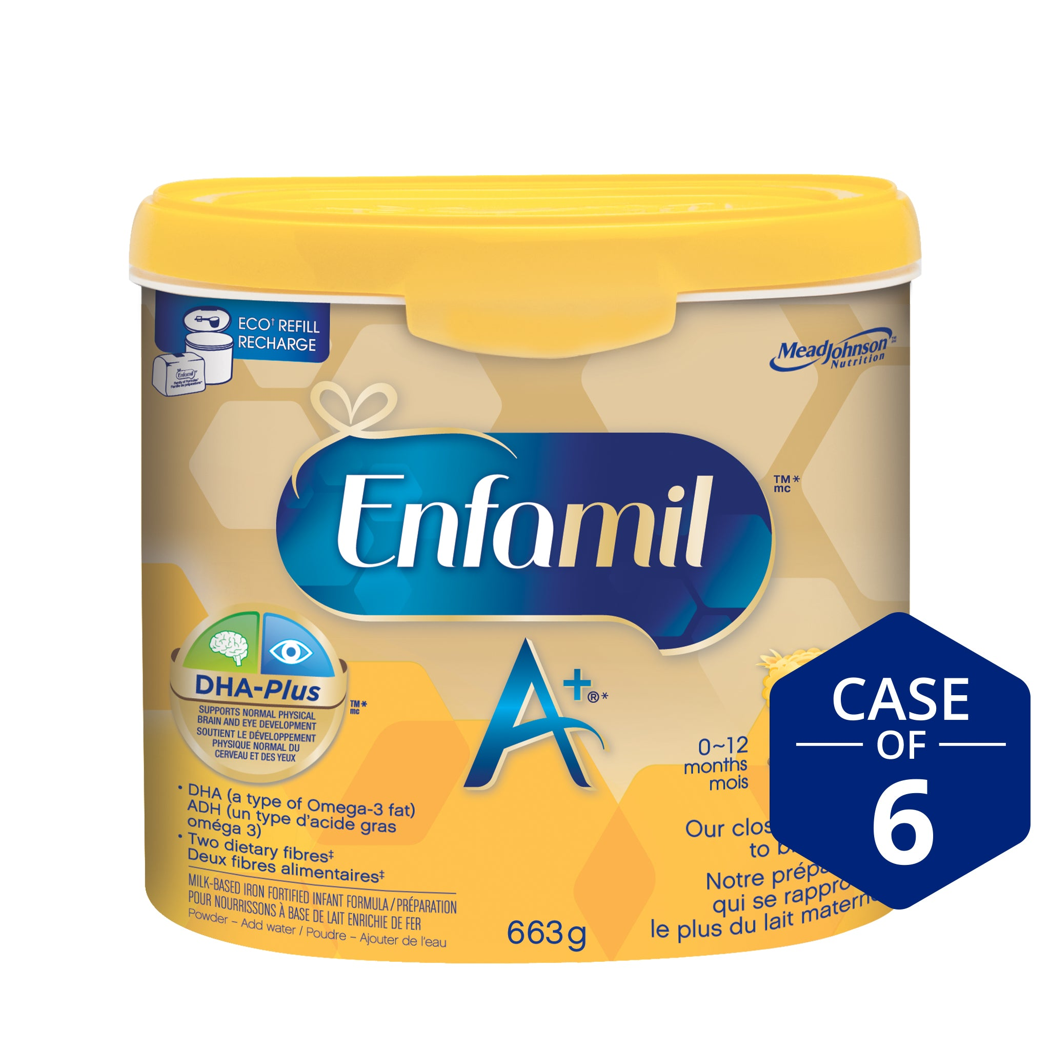 Enfamil A+® Infant Formula, Powder Tub, 663g