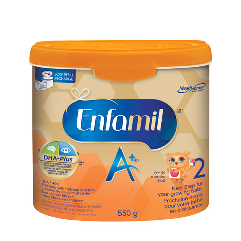 Enfamil A+® 2 Infant Formula, Powder Tub, 550g