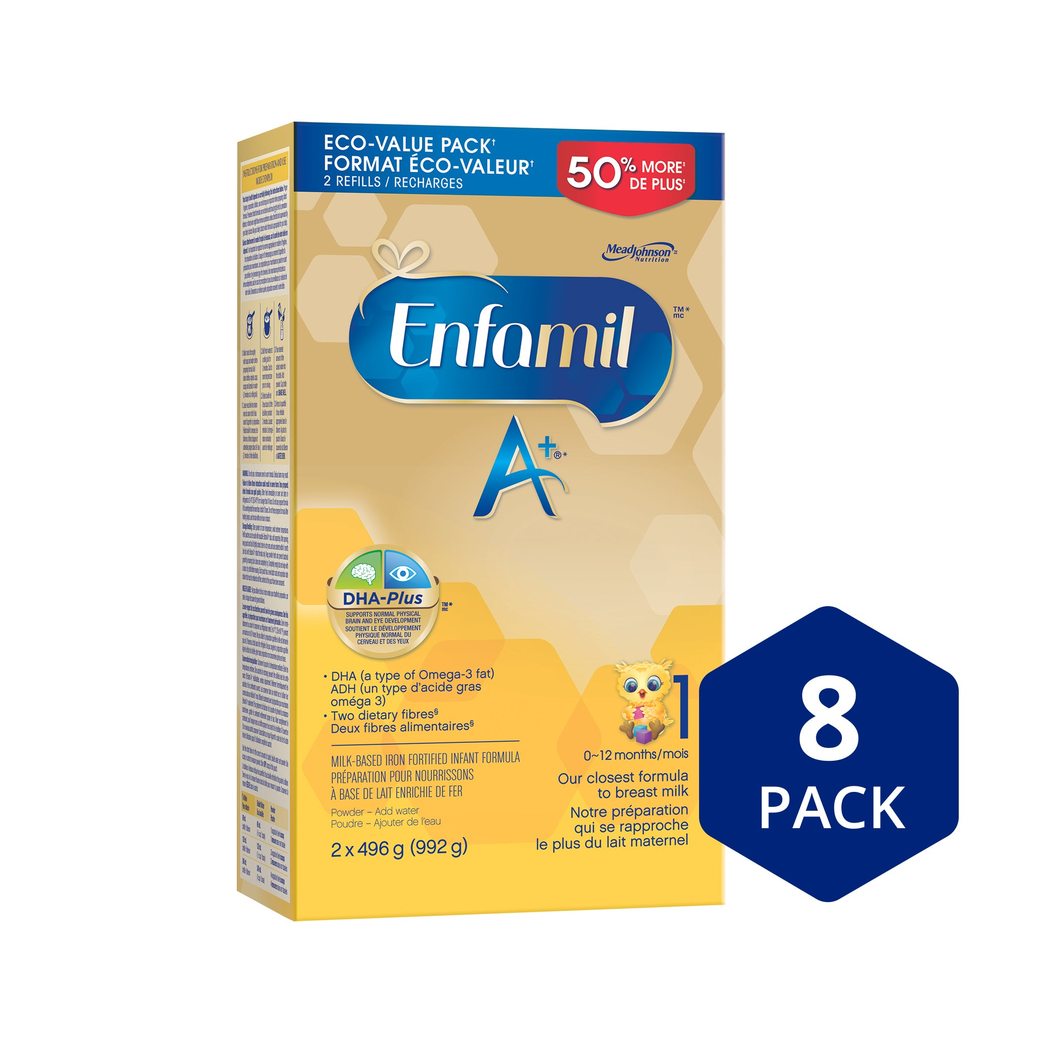 Enfamil A+® Infant Formula, Powder Refill, 992g