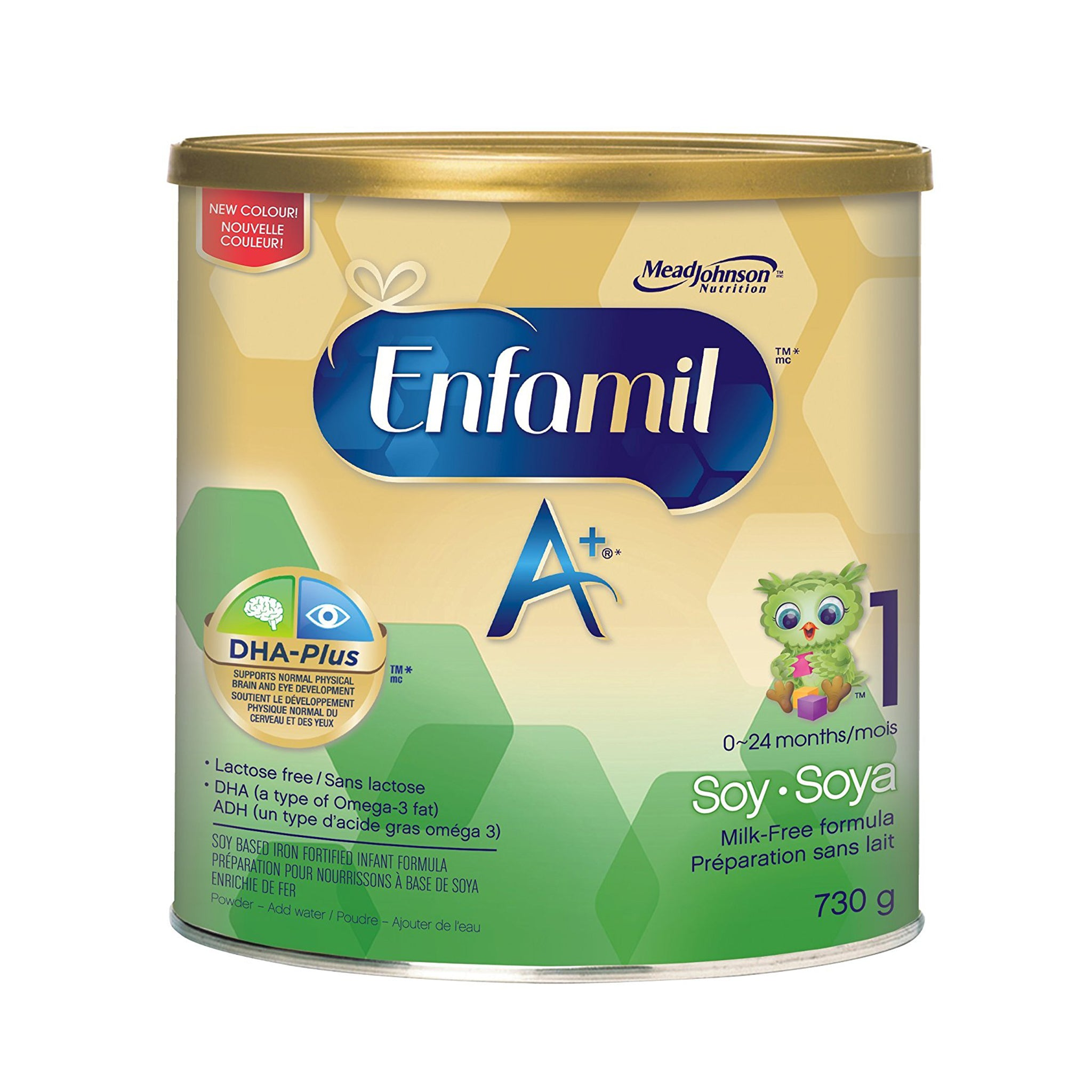 Enfamil A+® Soy Infant Formula, Powder, 730g