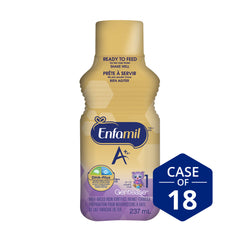 Enfamil A+ Gentlease® Infant Formula, Ready to Feed Bottles, 237mL