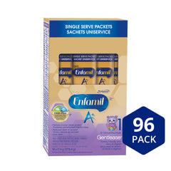 Enfamil A+ Gentlease® Infant Formula, Single Serve Powder, 17.4g