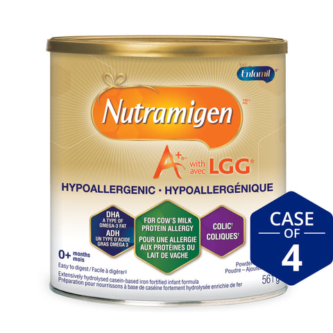 Nutramigen® A+® with LGG® Hypoallergenic Infant Formula, Powder, 561g