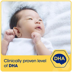 Enfamil A+, clinically proven level of DHA