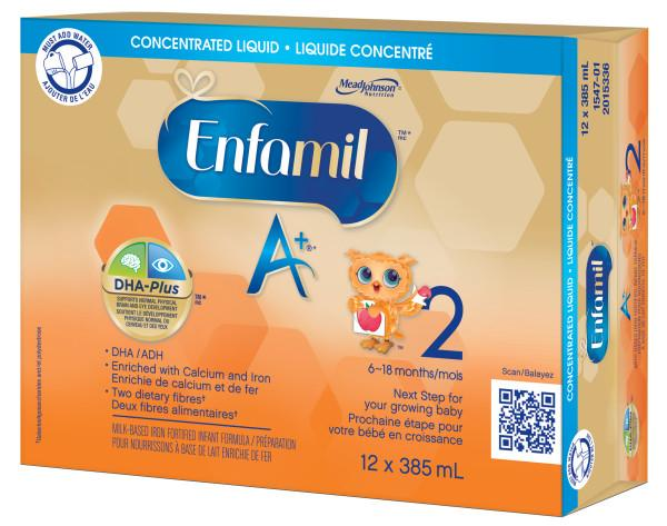 Enfamil A 174 2 Infant Formula Concentrated Liquid 385ml
