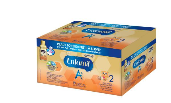 Enfamil A 174 2 Infant Formula Ready To Feed Bottles 237ml
