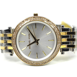 82ac593c3b0c Michael Kors Women s Darci Two-Tone Stainless Steel Bracelet Watch - MK3215