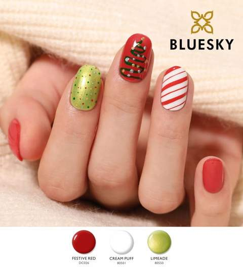 BLUESKY GEL POLISH - FESTIVE RED - DC026