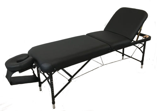 Table de massage en aluminium 3 Sections  portable 24'' NATURA