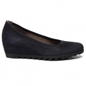 Gabor Suede Ballerina with Wedge Heel