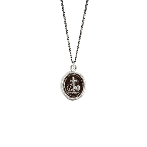 Pyrrha Faith Hope and Charity Talisman 16