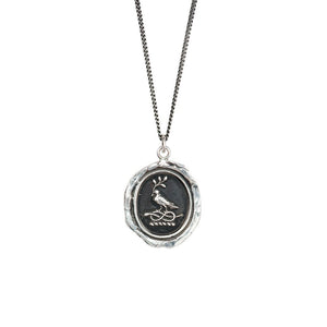 "Pyrrha Everlasting Love Talisman 18"" Curb Chain"