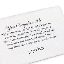 "Load image into Gallery viewer, Pyrrha You Complete Me Talisman 16"" Medium Cable (1.5mm)"