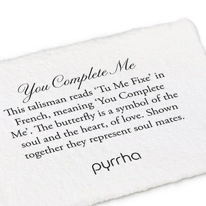 "Pyrrha You Complete Me Talisman 16"" Medium Cable (1.5mm)"
