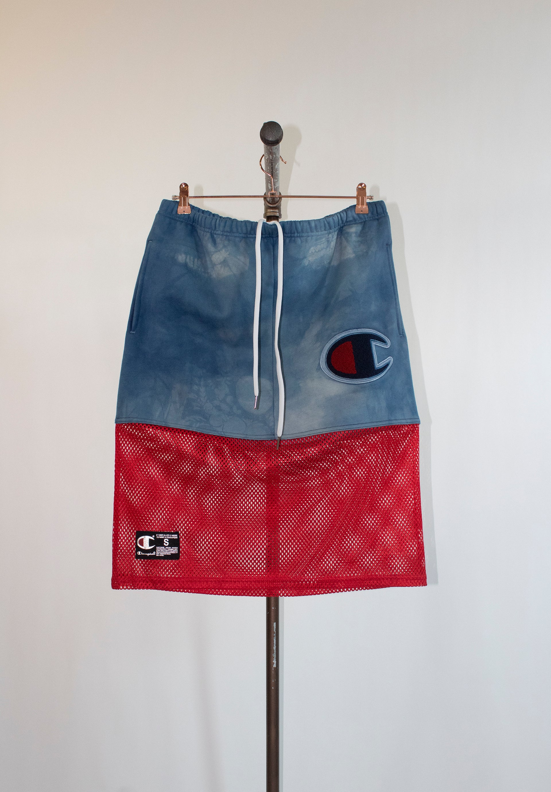 Supreme Indigo Fleece Skirt
