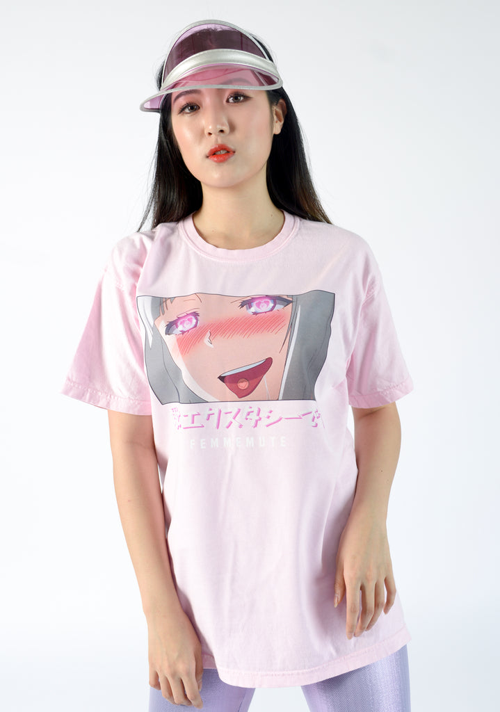 LOVE IS ECSTASY TEE - FEMMEMUTE Women's Streetwear