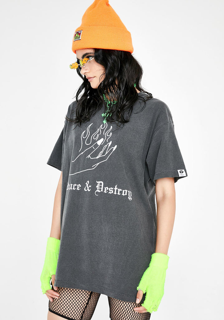 DESTRUCTION TEE