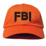 FBI DAD HAT - FEMMEMUTE Women's Streetwear