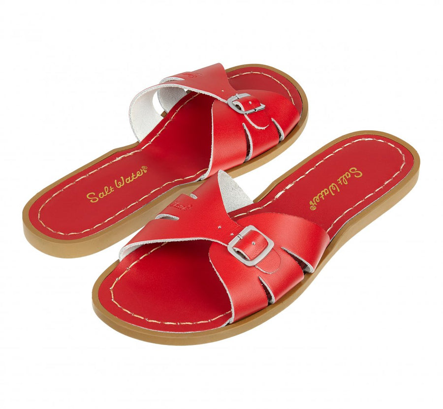 Salt-Water Classic Slide Red