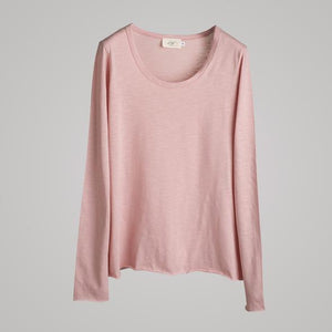 d´Els Long Sleeve Round Neck