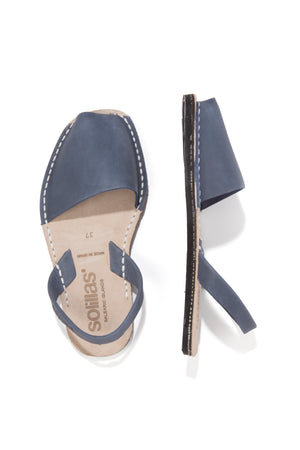 Solillas Slingbacks Marine Blue