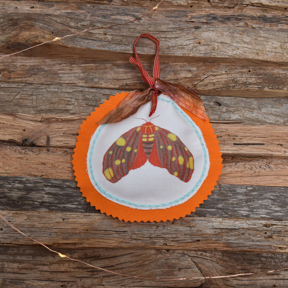 Animal Club Ornament:  Moth